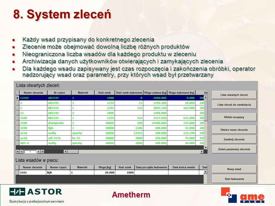 Dystrybucja z profesjonalnym serwisem Ametherm 8.