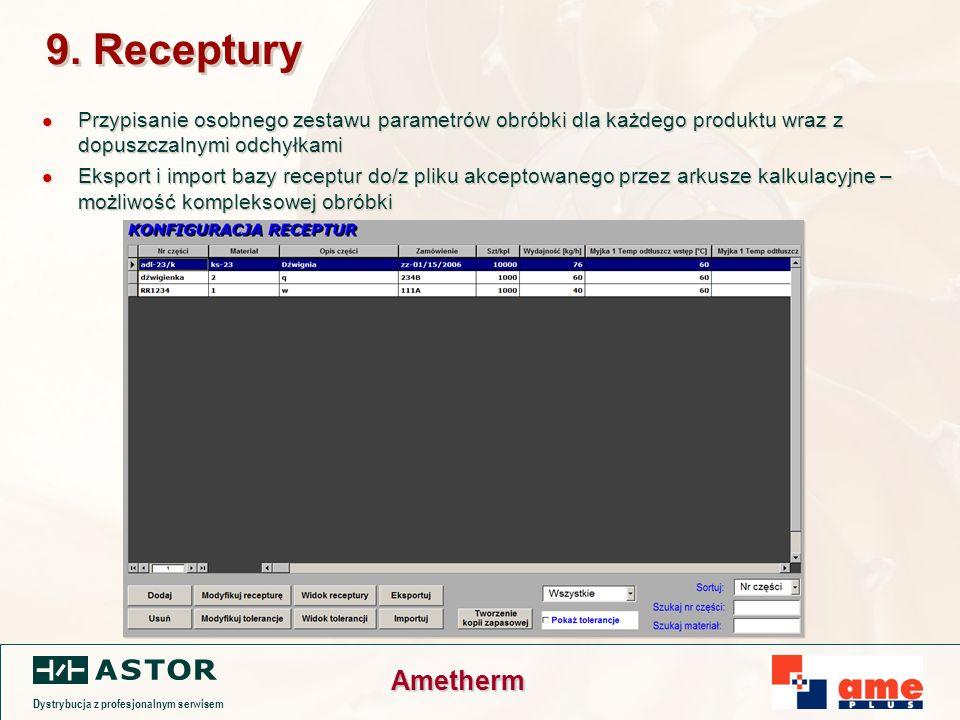 Dystrybucja z profesjonalnym serwisem Ametherm 9.