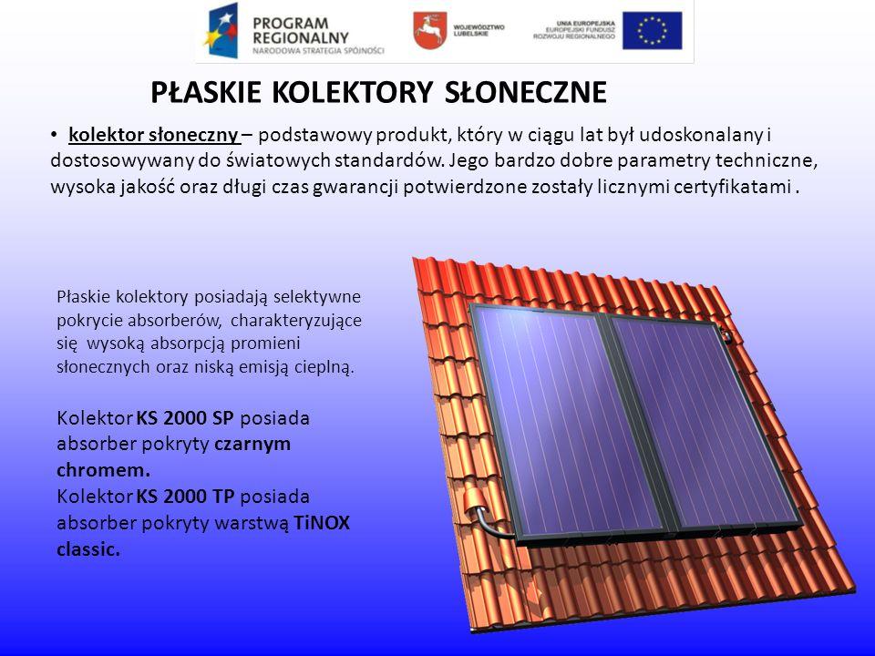 kolektor słoneczny – podstawowy produkt, który w ciągu lat był udoskonalany i dostosowywany do światowych standardów. Jego bardzo dobre parametry tech