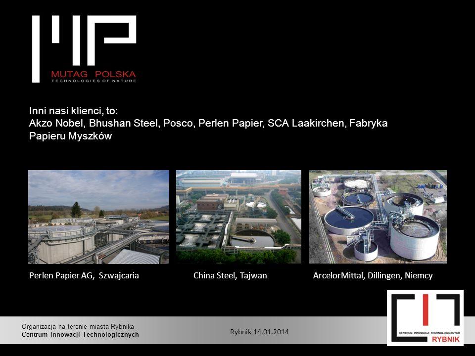 Perlen Papier AG, Szwajcaria ArcelorMittal, Dillingen, NiemcyChina Steel, Tajwan Inni nasi klienci, to: Akzo Nobel, Bhushan Steel, Posco, Perlen Papie