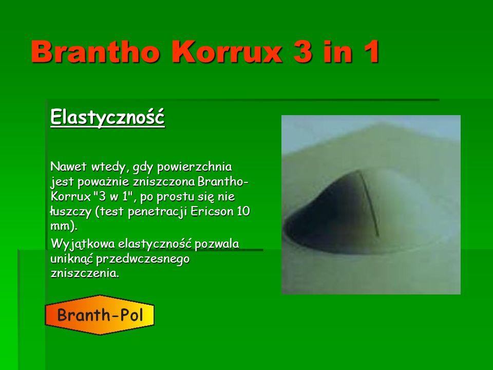 Brantho Korrux 3 in 1 Elastyczność Nawet wtedy, gdy powierzchnia jest poważnie zniszczona Brantho- Korrux