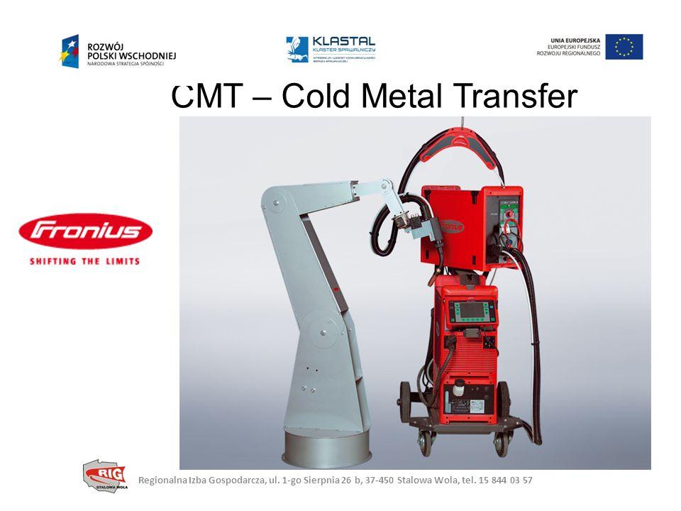 CMT – Cold Metal Transfer Regionalna Izba Gospodarcza, ul.