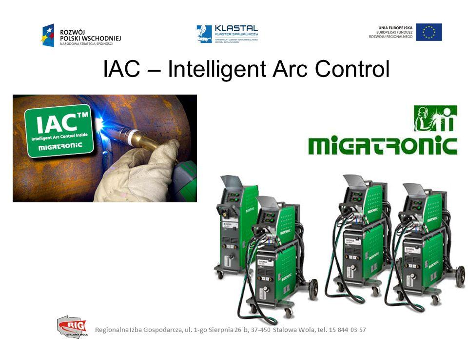 IAC – Intelligent Arc Control Regionalna Izba Gospodarcza, ul.