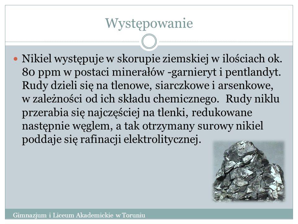 Reakcja z żelazocyjankami Gimnazjum i Liceum Akademickie w Toruniu Żelazocyjanki (np.