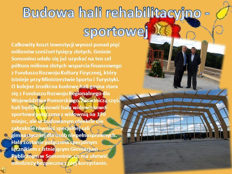 Całkowity koszt inwestycji wynosi ponad pięć milionów sześćset tysięcy złotych.