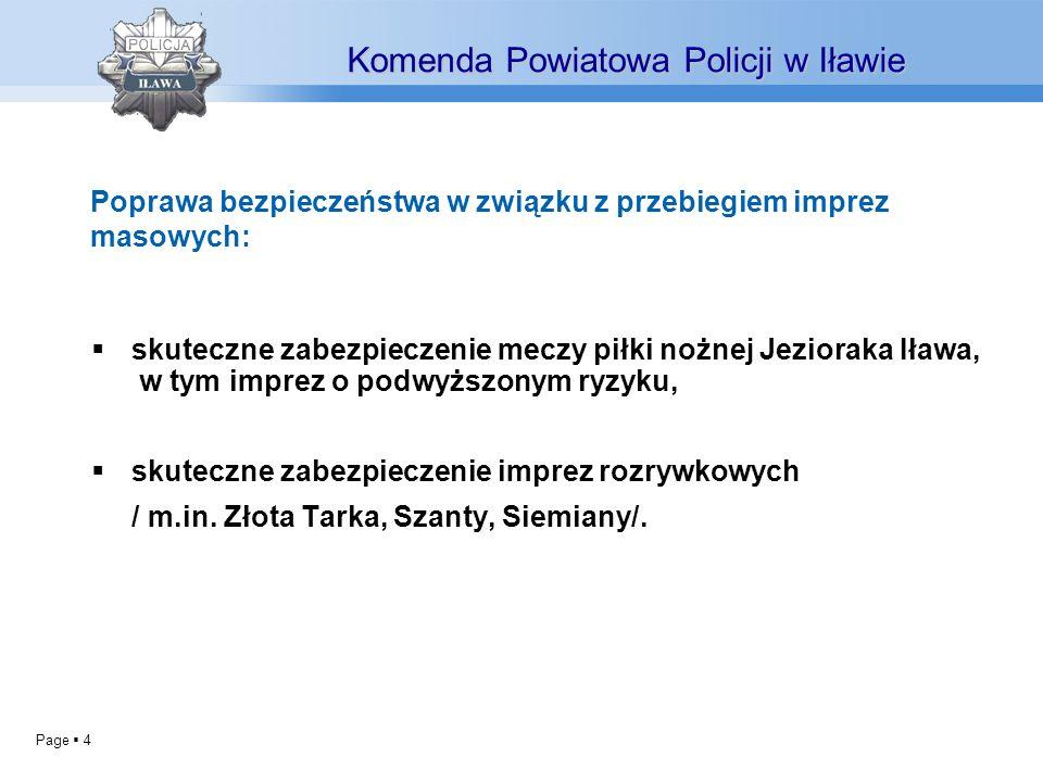 Page 4 skuteczne zabezpieczenie meczy piłki nożnej Jezioraka Iława, w tym imprez o podwyższonym ryzyku, skuteczne zabezpieczenie imprez rozrywkowych / m.in.