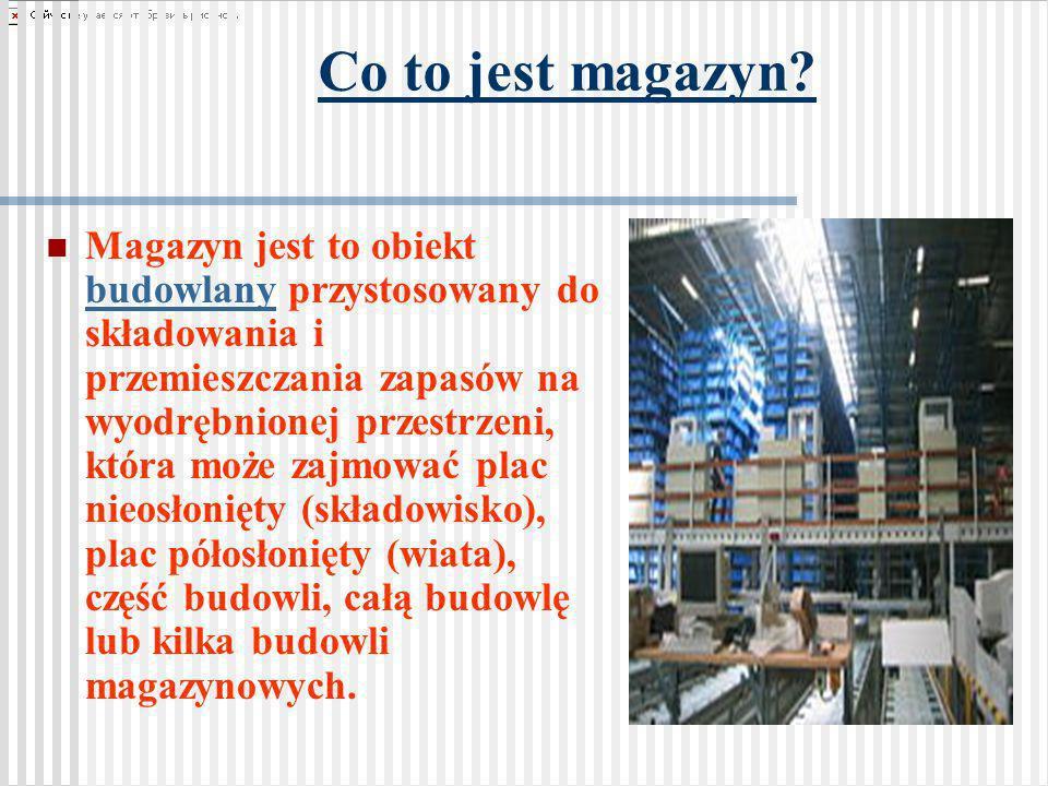 Co to jest magazyn? Magazyn jest to obiekt budowlany przystosowany do składowania i przemieszczania zapasów na wyodrębnionej przestrzeni, która może z