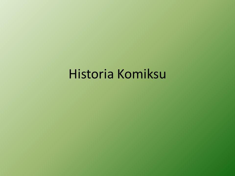 Historia Komiksu