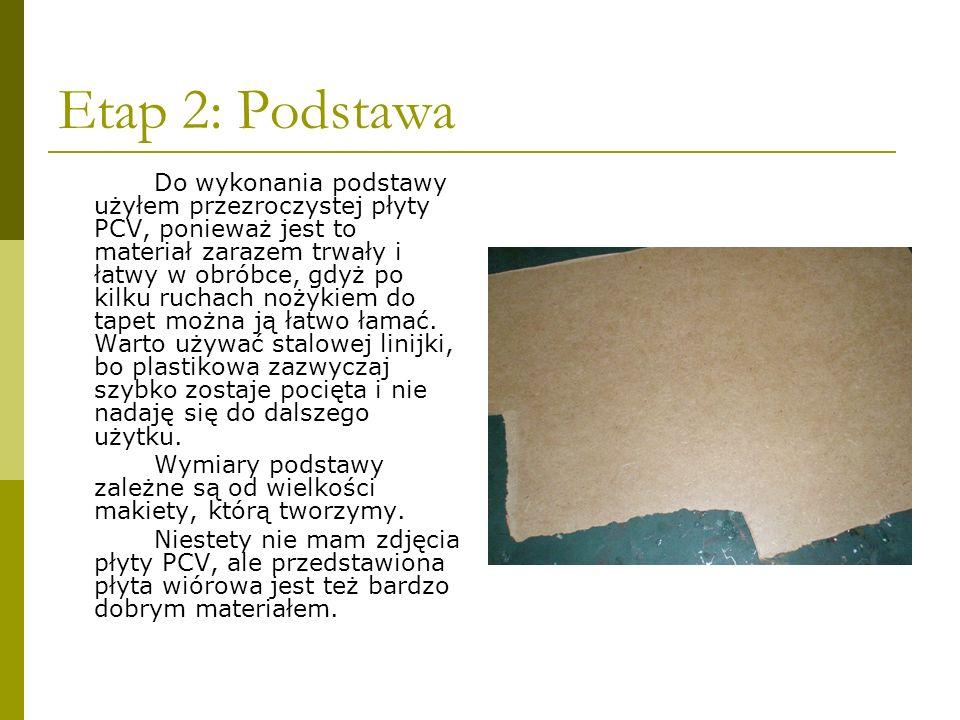 Etap 3: Formowanie kształtu Następnie używając nożyka trzeba wyrzeźbić docelowy kształt.