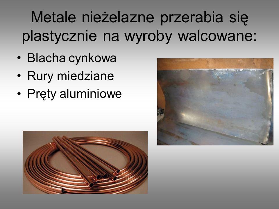 BRĄZY Brąz aluminiowy – odporny na działanie związków chemicznych.