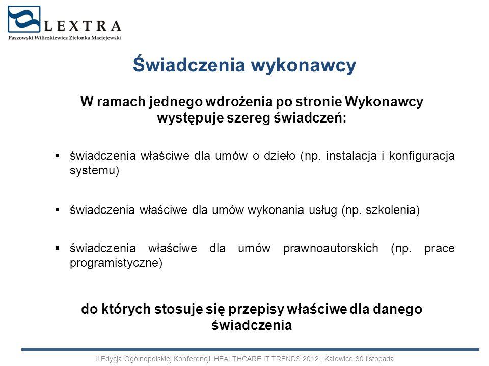 Wybór najkorzystniejszej oferty wdrożenia wybór wykonawcy w trybie kodeksu cywilnego postępowanie przetargowe w trybie ustawy prawo zamówień publicznych Przed wdrożeniem II Edycja Ogólnopolskiej Konferencji HEALTHCARE IT TRENDS 2012, Katowice 30 listopada
