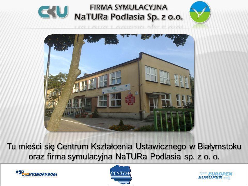 Tu mieści się Centrum Kształcenia Ustawicznego w Białymstoku oraz firma symulacyjna NaTURa Podlasia sp. z o. o.
