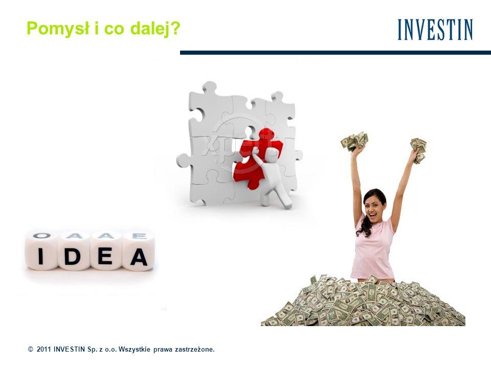 Pomysł i co dalej © 2011 INVESTIN Sp. z o.o. Wszystkie prawa zastrzeżone.