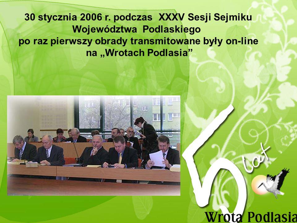 W 2006 r. Wrota Podlasia publikowane były już w aż 7 wersjach językowych