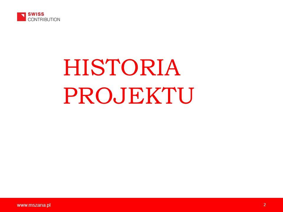 2 HISTORIA PROJEKTU