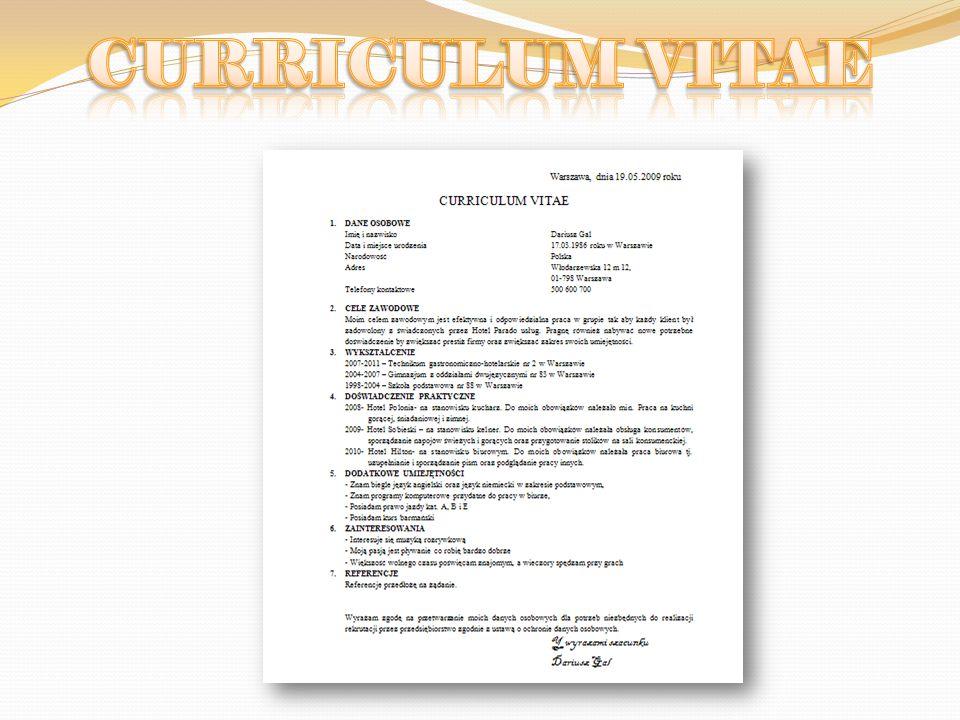 Znalazłem w gazecie ciekawą ofertę pracy więc: Napiszę list motywacyjny