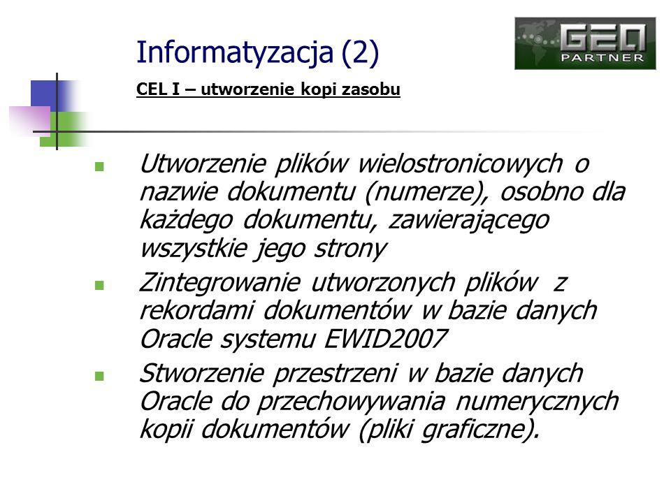 Utworzenie plików wielostronicowych o nazwie dokumentu (numerze), osobno dla każdego dokumentu, zawierającego wszystkie jego strony Zintegrowanie utwo