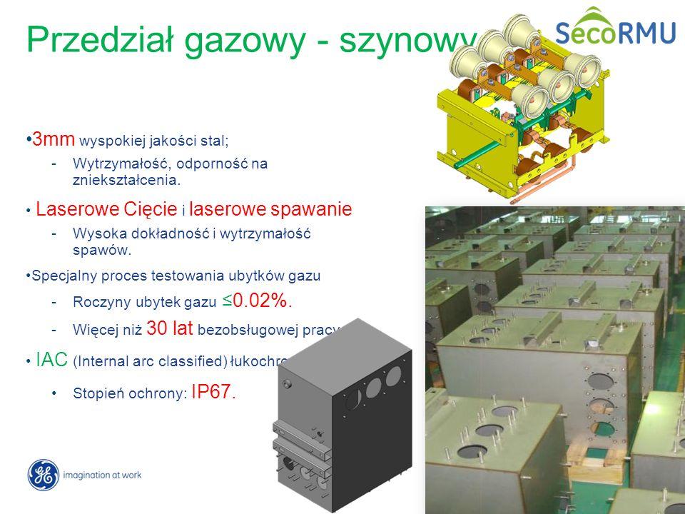12 / GE Energy/ Zdobyslaw Cison Przedział gazowy - szynowy 3mm wyspokiej jakości stal; -Wytrzymałość, odporność na zniekształcenia. Laserowe Cięcie i