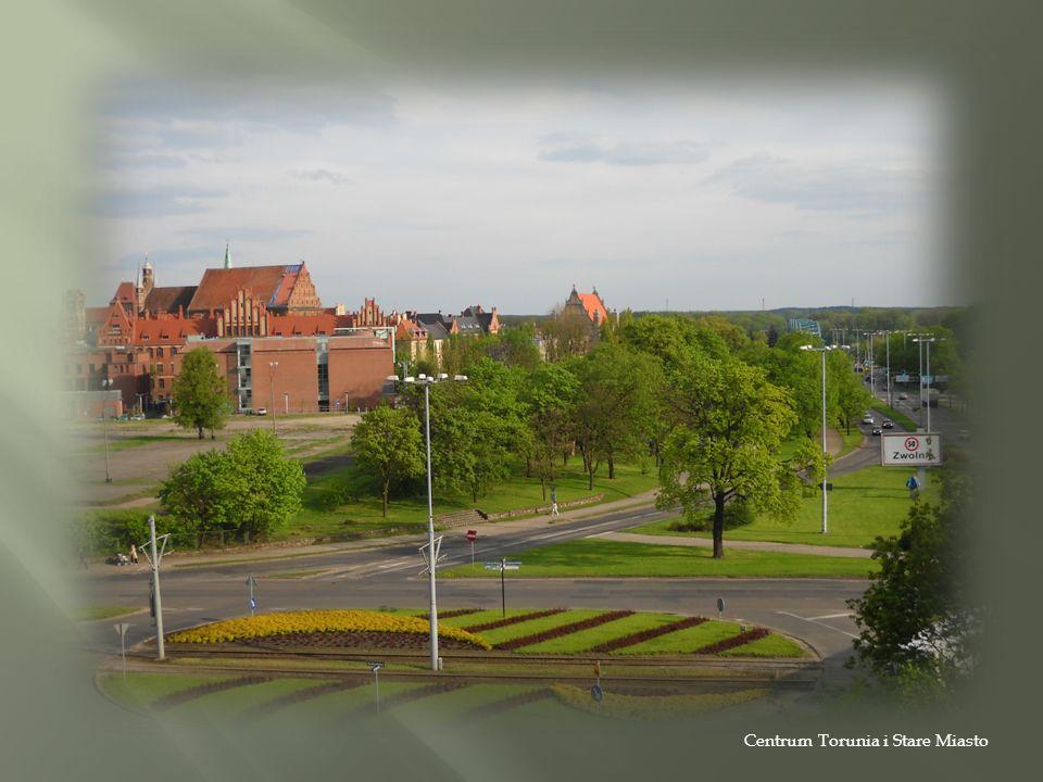 Centrum Torunia i Stare Miasto