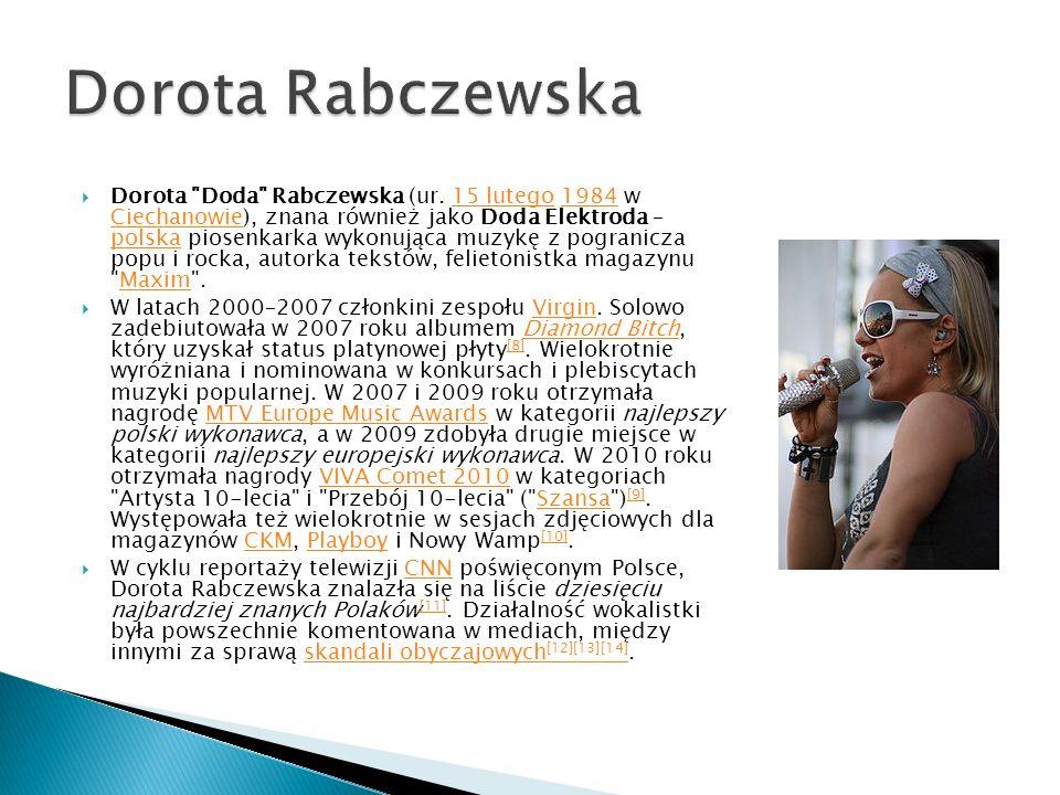 Dorota Doda Rabczewska (ur.