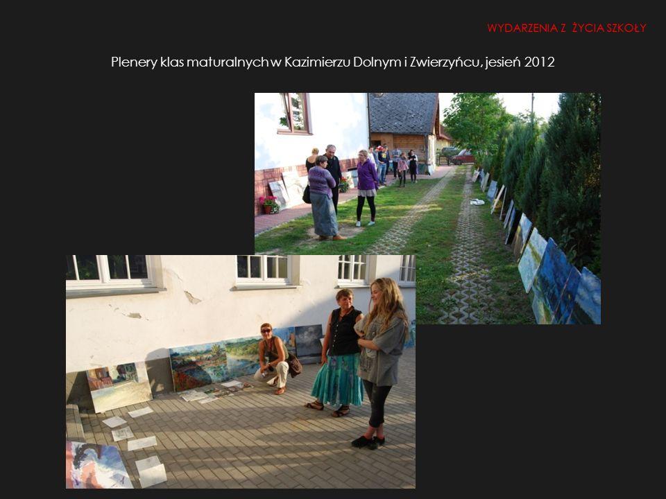 Aukcja (25.10.2012 r.) i kiermasz prac uczniowskich Stowarzyszenia Lubelski Plastyk WYDARZENIA Z ŻYCIA SZKOŁY