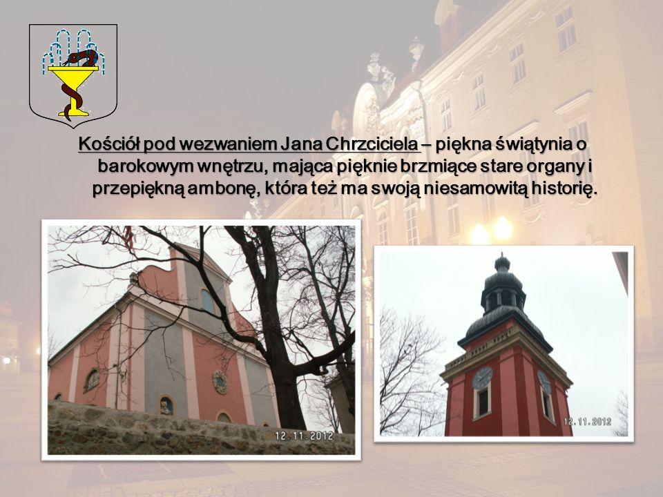 Kościół pod wezwaniem Jana Chrzciciela – piękna świątynia o barokowym wnętrzu, mająca pięknie brzmiące stare organy i przepiękną ambonę, która też ma