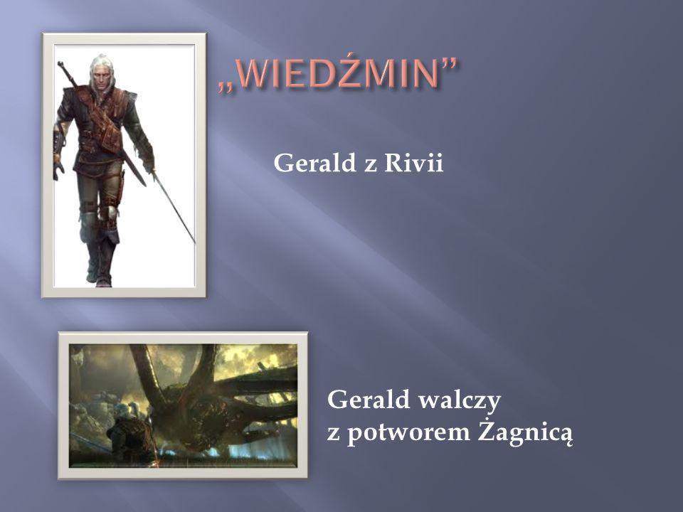 Gerald z Rivii Gerald walczy z potworem Żagnicą