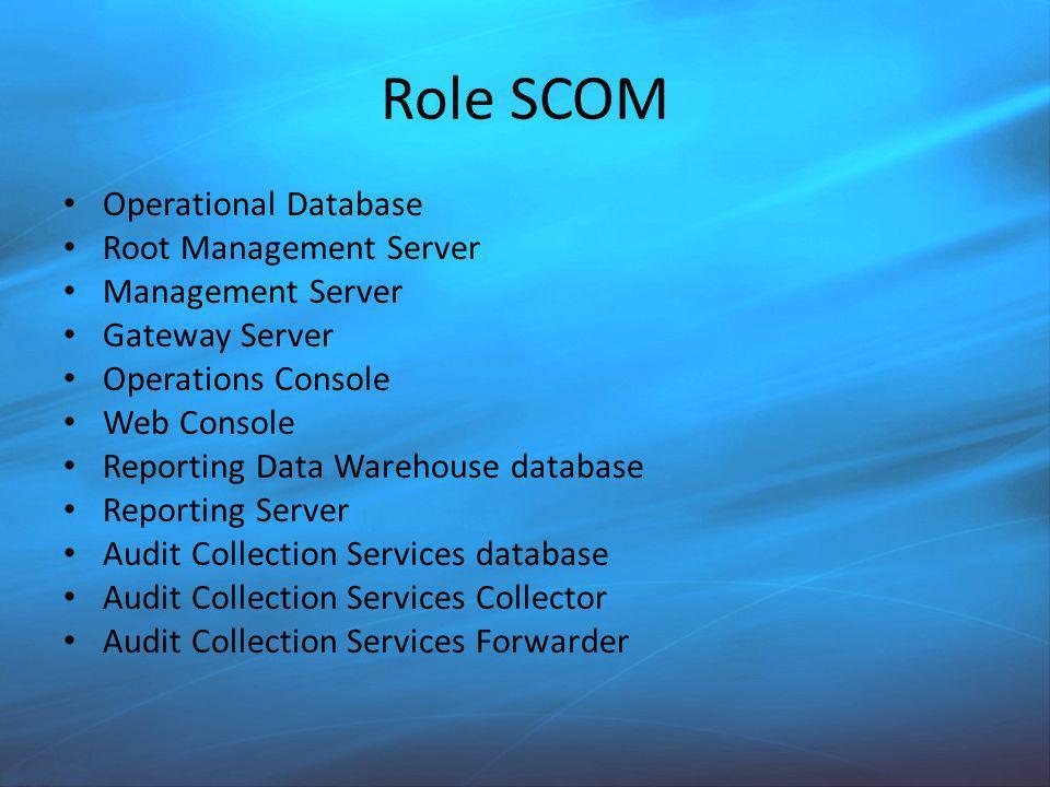 OpsMgr 2007 R2 – Topologia Skalowalne MS zależne od ilość agentów
