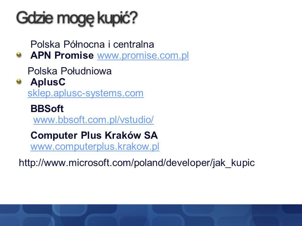 Gdzie mogę kupić? Polska Północna i centralna APN Promise www.promise.com.plwww.promise.com.pl Polska Południowa AplusC sklep.aplusc-systems.com BBSof