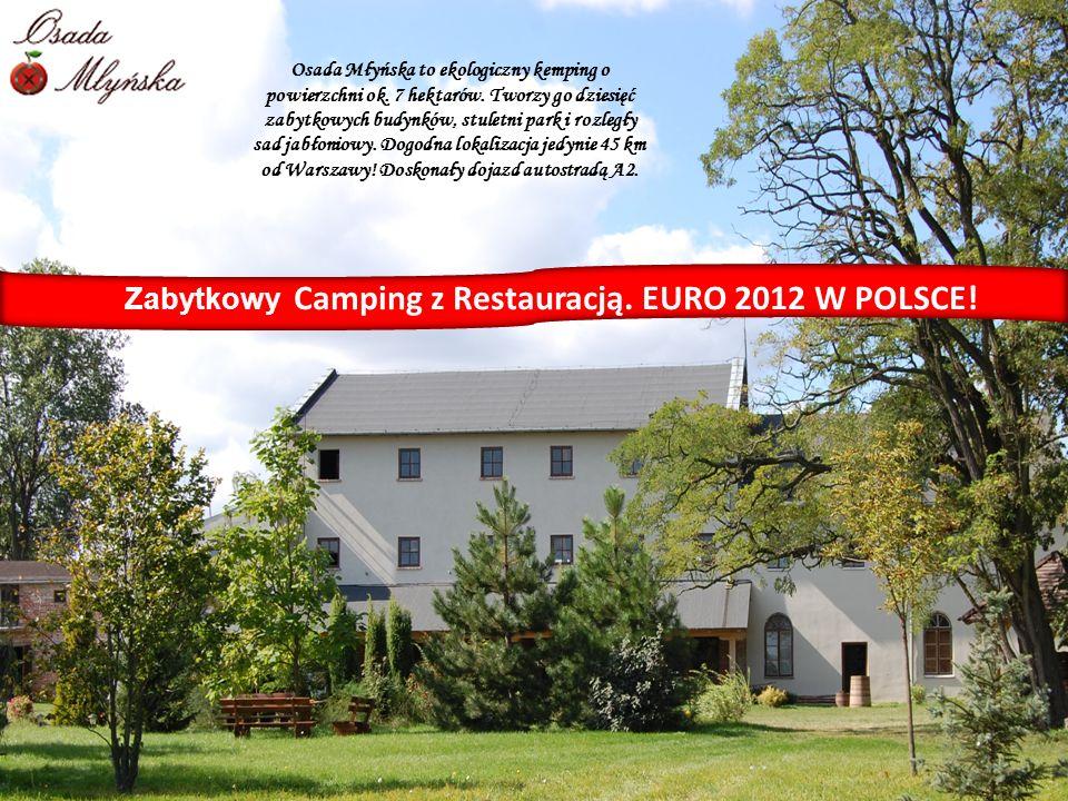 Osada Młyńska to ekologiczny kemping o powierzchni ok. 7 hektarów. Tworzy go dziesięć zabytkowych budynków, stuletni park i rozległy sad jabłoniowy. D