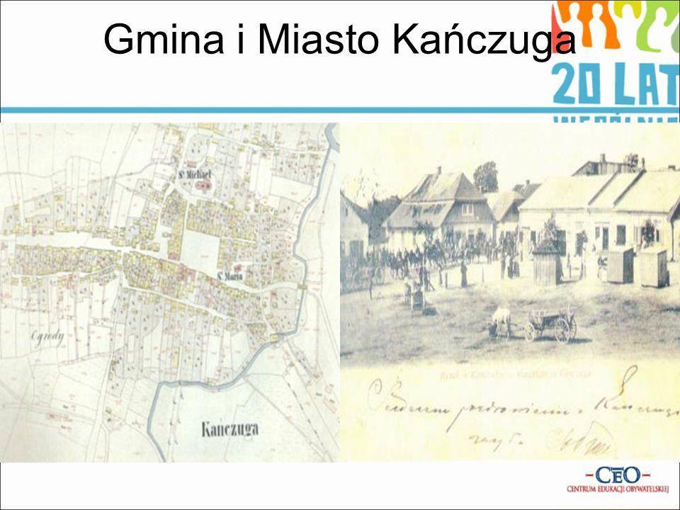 Gimnazjum Numer 1 w Kańczudze. Samorząd Miasta i Gminy Kańczuga.