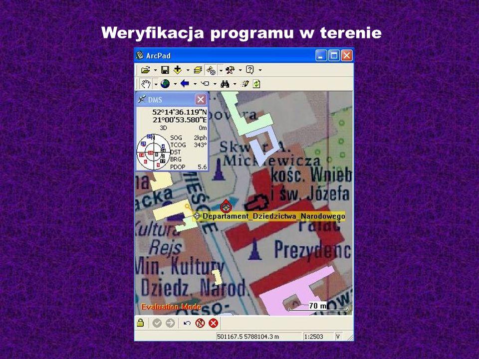 Weryfikacja programu w terenie