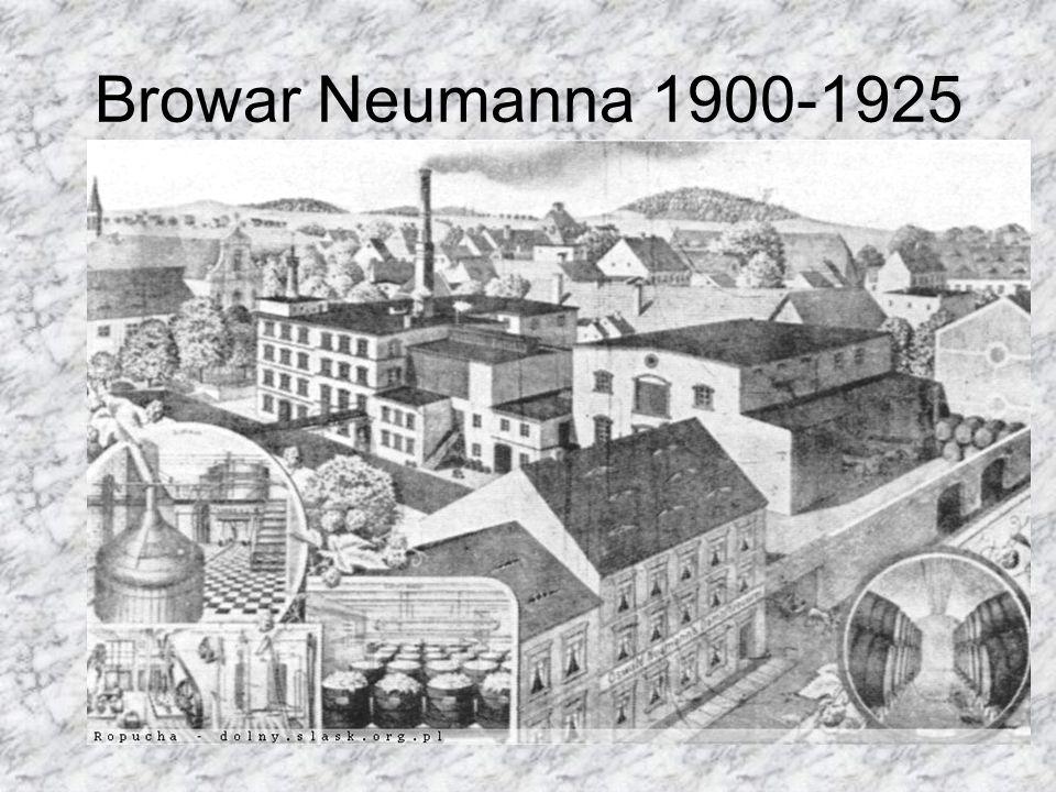Browar Neumanna 1900-1925