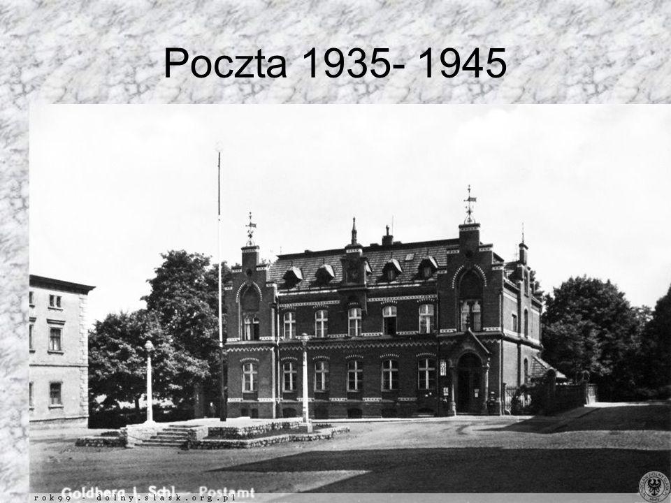 Poczta 1935- 1945