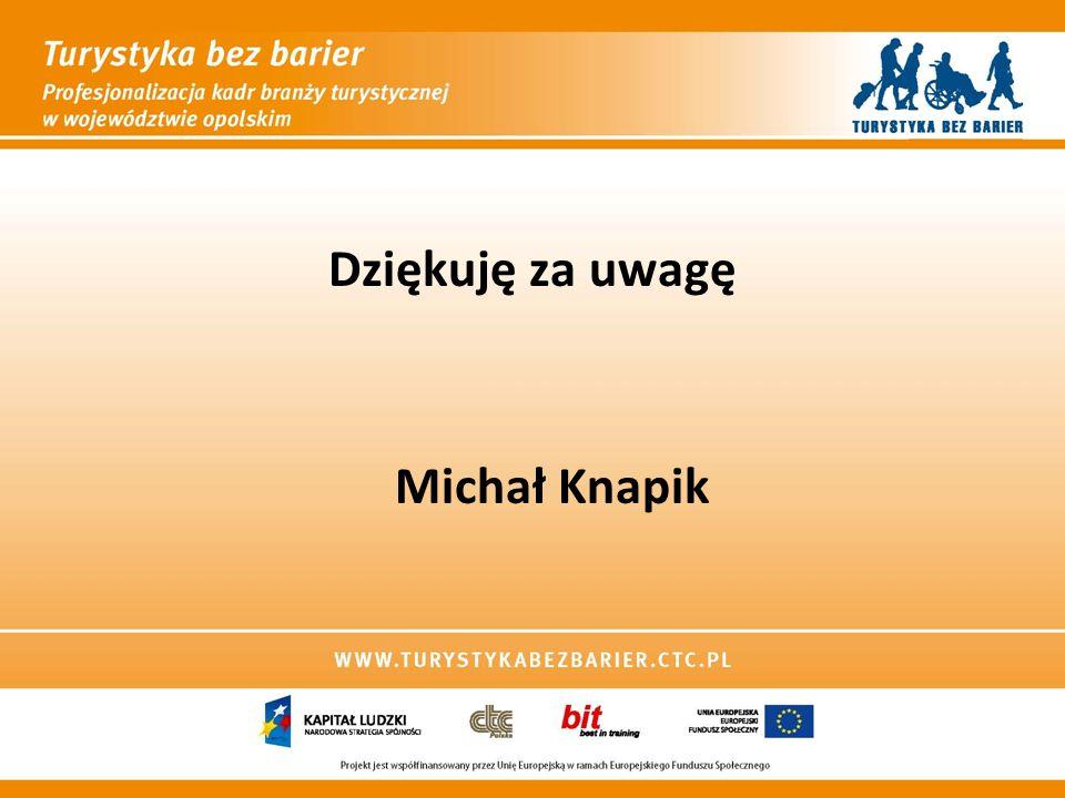 Dziękuję za uwagę Michał Knapik