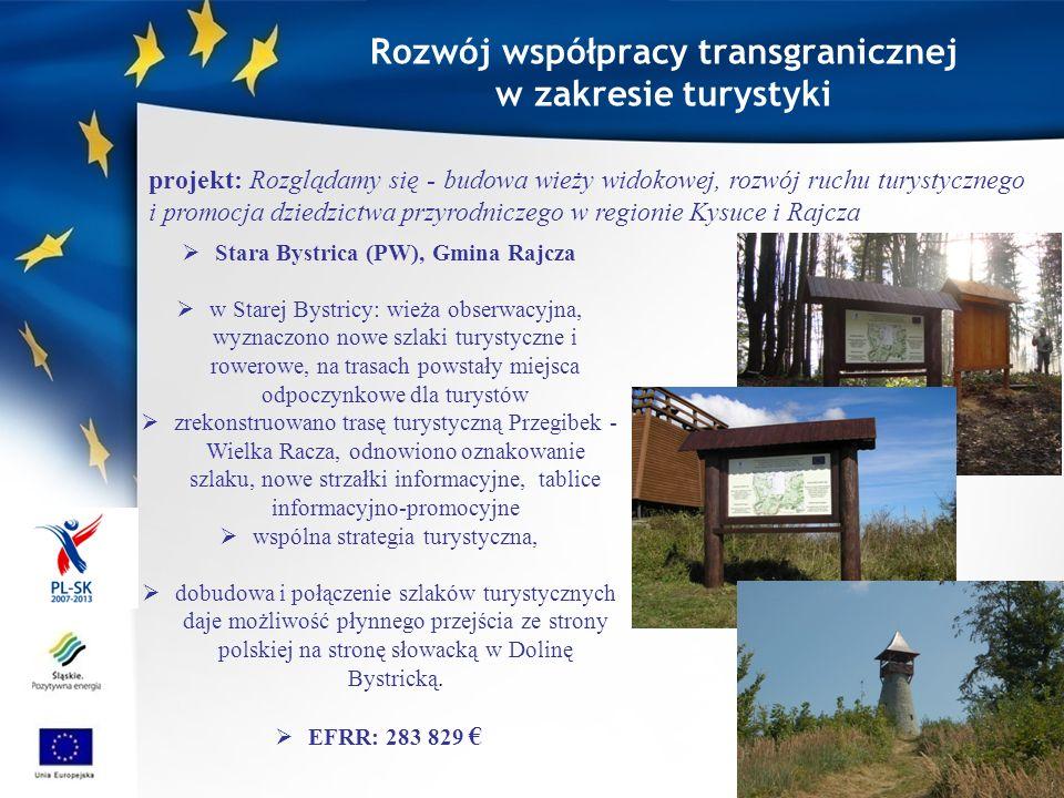 Rozwój współpracy transgranicznej w zakresie turystyki Stary Sącz i Lewocza-karpackie miasteczka z klimatem.