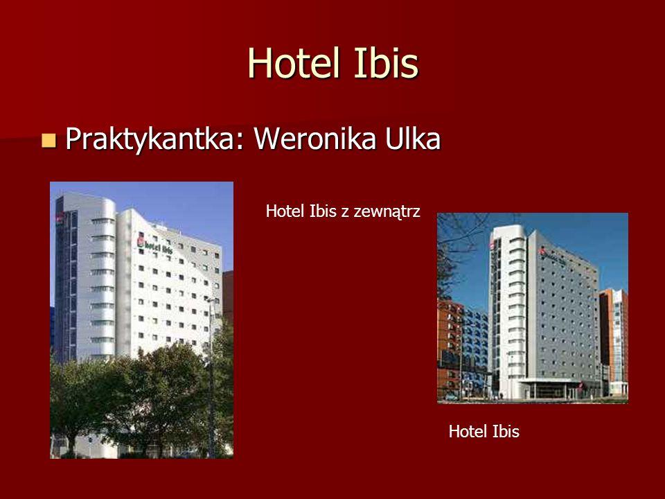 Hotel Ibis Praktykantka: Weronika Ulka Praktykantka: Weronika Ulka Hotel Ibis z zewnątrz Hotel Ibis