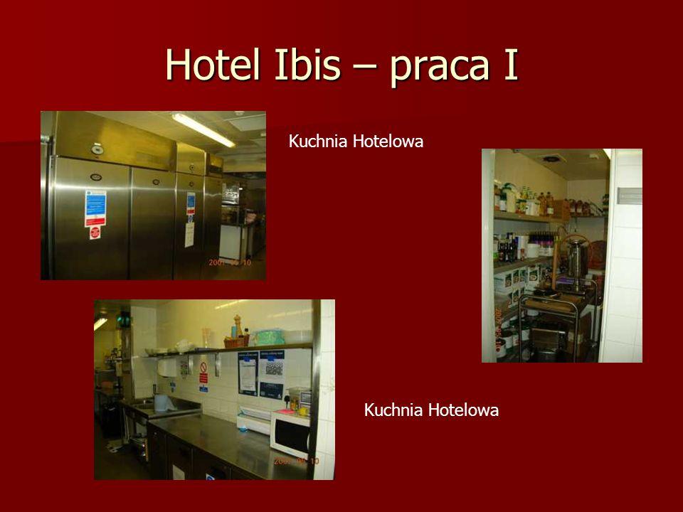 Hotel Ibis – praca II Zaplecze z zastawą Jeden z zmywaków