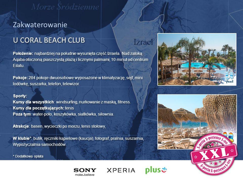 BARY I RESTAURACJE W UCoral Beach Club znajdują się 2 restauracje i 4 bary.