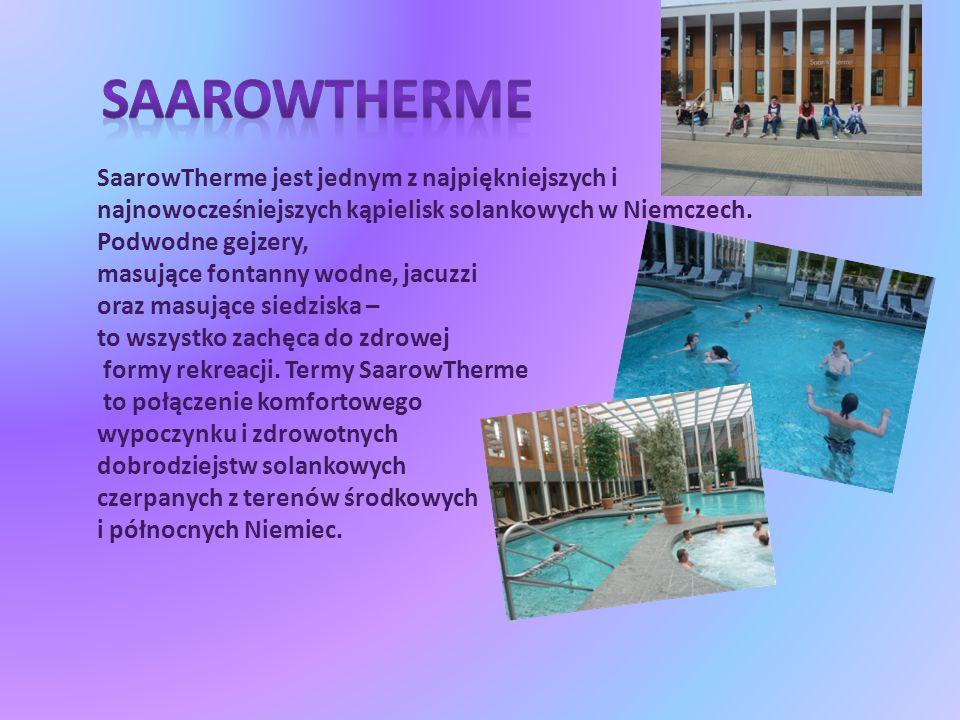 SaarowTherme jest jednym z najpiękniejszych i najnowocześniejszych kąpielisk solankowych w Niemczech.