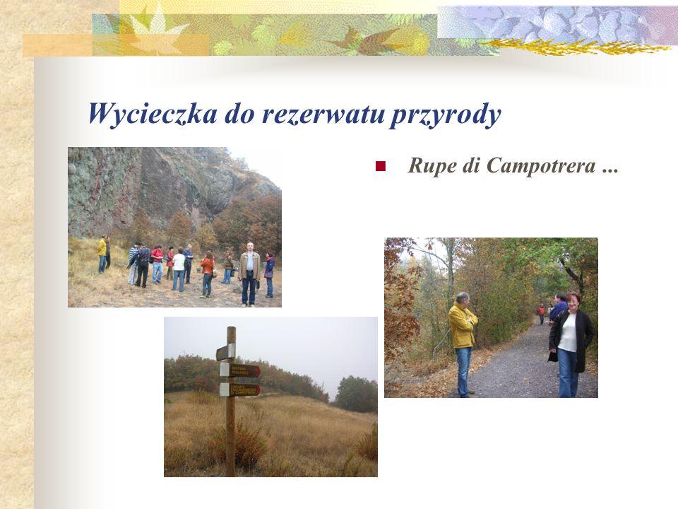 Wycieczka do rezerwatu przyrody Rupe di Campotrera...