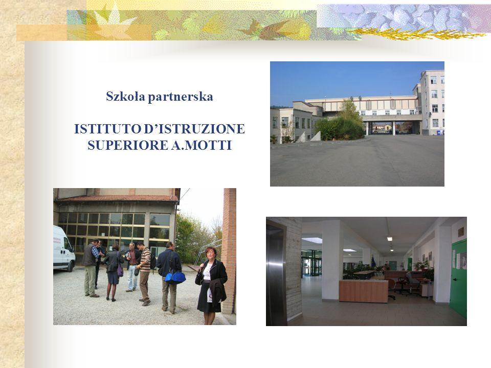 Szkoła partnerska ISTITUTO DISTRUZIONE SUPERIORE A.MOTTI
