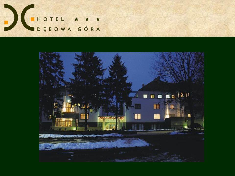 Centrum Konferencyjne Hotelu Dębowa Góra dysponuje salami o różnej ilości miejsc.
