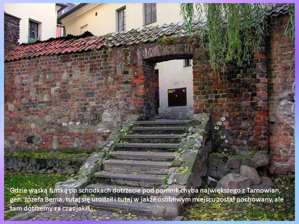 Po obfitym posiłku tuż obok Domu Florenckiego skręćcie w uroczy zaułek z fragmentami murów miejskich, zwany ul. Forteczną...