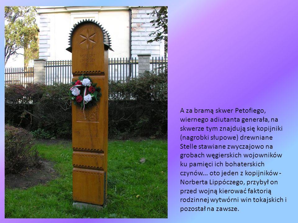 Z ul. Wałowej schodzimy ul. Krakowską nie zapominając oczywiście o Ojczulku Bemie do charakterystycznej drewnianej budowli, którą jest Brama Seklerska