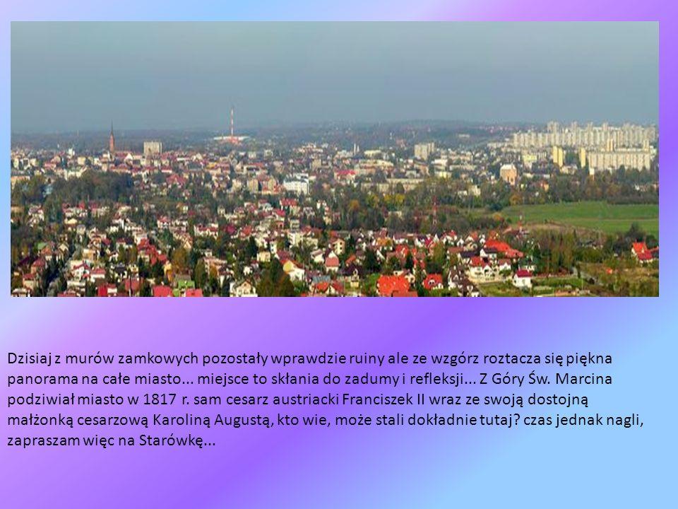 Zbocza góry porastały gęste krzewy tarniny, toteż i miasto, jak podaje kronikarz Jan Długosz Tarnowem nazwano... W zamkowych piwnicach leżakowały wina