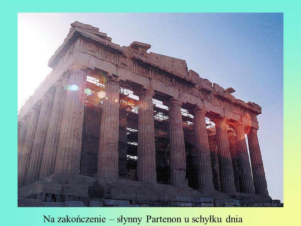 Tajemnicza świątynia Jupitera o zachodzie słońca...