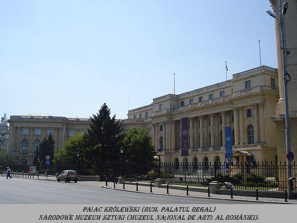 Synagoga Jeszua Tova (Rum. Sinagoga Ie ş ua Tova lub Sinagoga Podul Mogo ş oaiei) Jest to obecnie najstarsza czynna synagoga w Bukareszcie.
