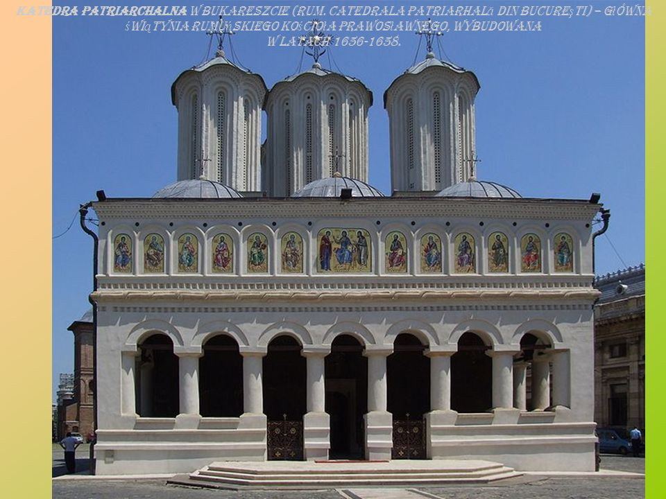 Pa ł ac Królewski (rum. Palatul Regal) Narodowe Muzeum Sztuki (Muzeul Na ţ ional de Art ă al României).