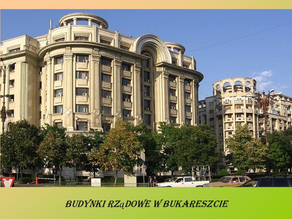 Budynki rz ą dowe w Bukareszcie